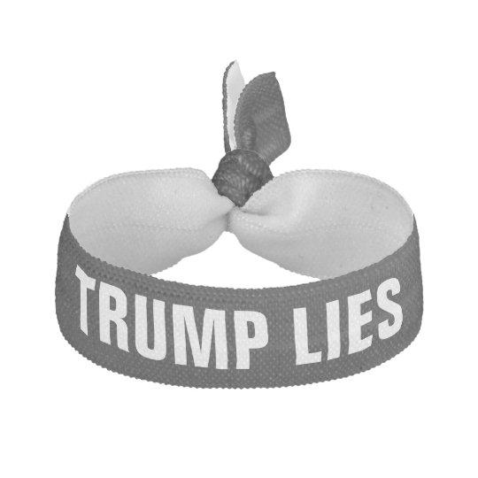 Trump Lies Hair Ties