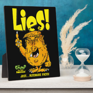 Trump Lies Plaque