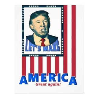 trump love design letterhead