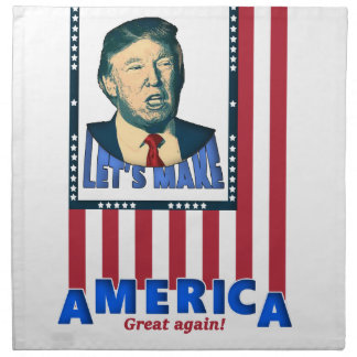 trump love design napkin
