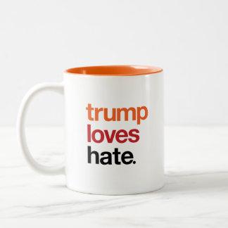 Trump Loves Hate Mug