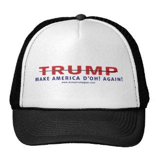 TRUMP MAKE AMERICA D'OH! AGAIN TRUCKER HAT