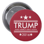 Trump-Make America Great Again 3 Inch Round Button