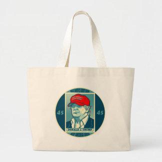 Trump: Make America Great Again MAGA Large Tote Bag
