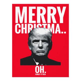 Trump Merry Christmas... Oh Letterhead