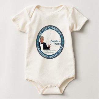 TRUMP nauguration Baby Bodysuit