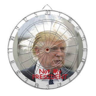 TRUMP Not My President Dart Dartboard