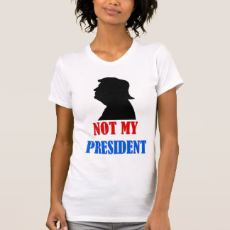 Trump not my president t-shirt