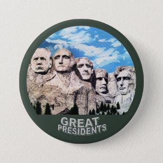 Trump on Rushmore 3 Inch Round Button