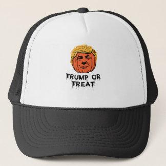Trump Or Treat Halloween T Shirt Trucker Hat