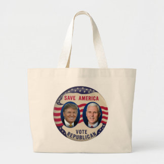 TRUMP PENCE 2016 LARGE TOTE BAG