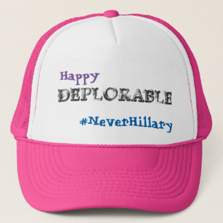 Trump Pence 2016 #NeverHillary Hat