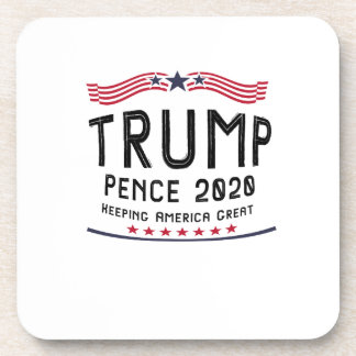 Trump Pence 2020 Keeping America Great Coaster