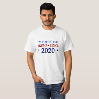 Trump Pence 2020 Political Tees