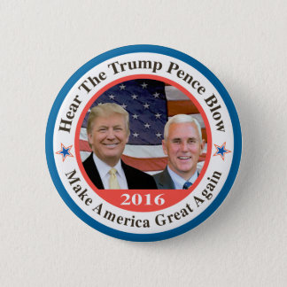 trump pence 2 2 inch round button