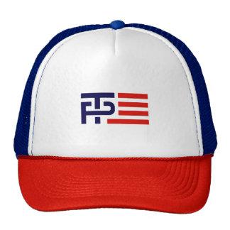 Trump Pence Flag Banner - Trucker Hat