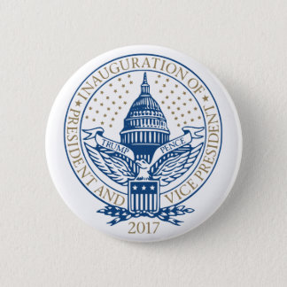 Trump Pence President Inaugural Logo Inauguration 2 Inch Round Button