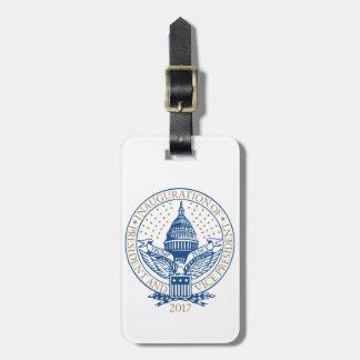 Trump Pence President Inaugural Logo Inauguration Bag Tag