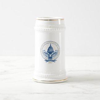 Trump Pence President Inaugural Logo Inauguration Beer Stein
