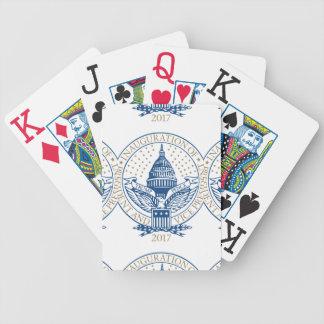 Trump Pence President Inaugural Logo Inauguration Bicycle Playing Cards