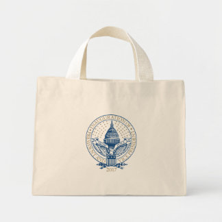 Trump Pence President Inaugural Logo Inauguration Mini Tote Bag