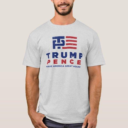 Trump Pence Vintage Tee 2016 Election Tshirt