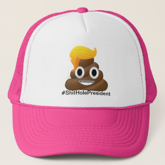 Trump Poop Head Hat