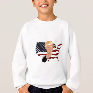 Trump President Uncle Sam Usa America Flag Sweatshirt