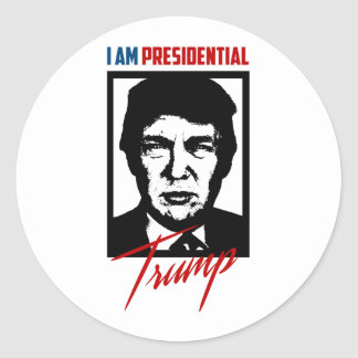 Trump Presidential Sticker