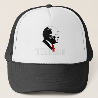 Trump Profile Trucker Hat