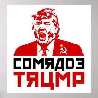 "Trump Protest Poster 2017: ""COMRADE TRUMP"""
