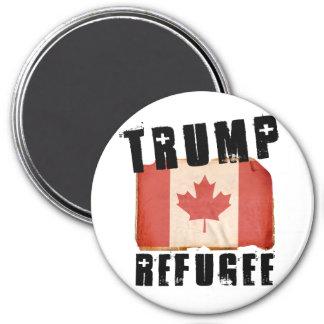Trump Refugee - American Refugee - -  3 Inch Round Magnet