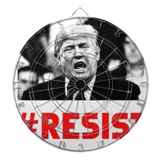 TRUMP RESIST DARTBOARD
