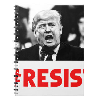 TRUMP RESIST NOTEBOOK