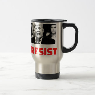 TRUMP RESIST TRAVEL MUG