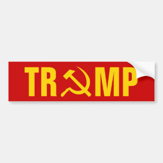 Trump - Russia Bumper Sticker
