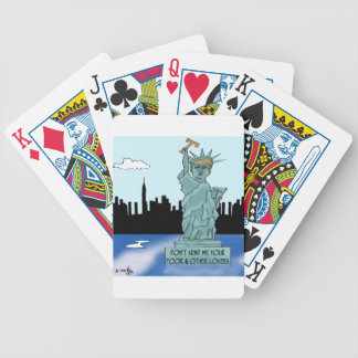 Trump's Statue of Liberty Bicycle Playing Cards