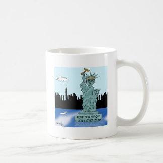 Trump's Statue of Liberty Coffee Mug