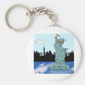 Trump's Statue of Liberty Keychain