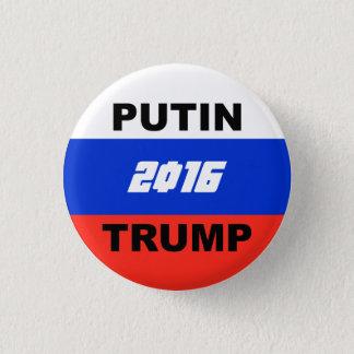 "Trump Satirical Campaign Button (""Motherland"" '16)"