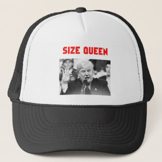 TRUMP SIZE QUEEN TRUCKER HAT