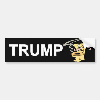Trump Smells Bumper Sticker
