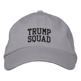 Trump Squad Adjustable Hat Embroidered Baseball Cap