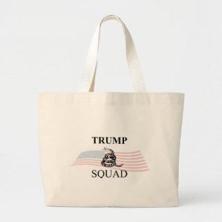 Trump Squad Large Tote Bag