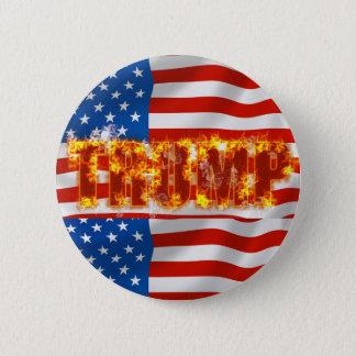 Trump Standard, 2¼ Inch Round Button