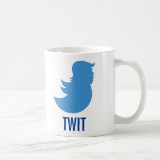 "Trump Sucks Coffee Mug: ""TWIT"" Coffee Mug"
