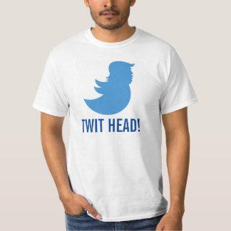 """Trump T-Shirt: """"TWIT HEAD"""" T-Shirt"""