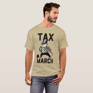 Trump Tax March - Show us your taxes T-Shirt