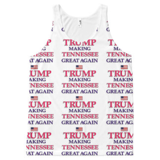 Trump Tennessee All-Over-Print Tank Top