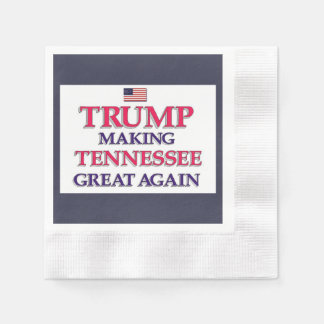 Trump Tennessee Disposable Napkin